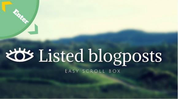 Tutorials blogposts